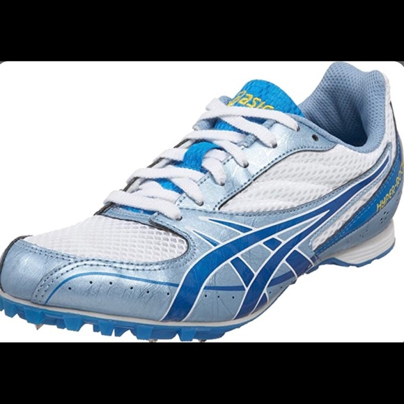 Blue And White Long Distance Spikes
